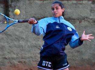 Valeria Ortega en el Torneo Nacional de Tenis
