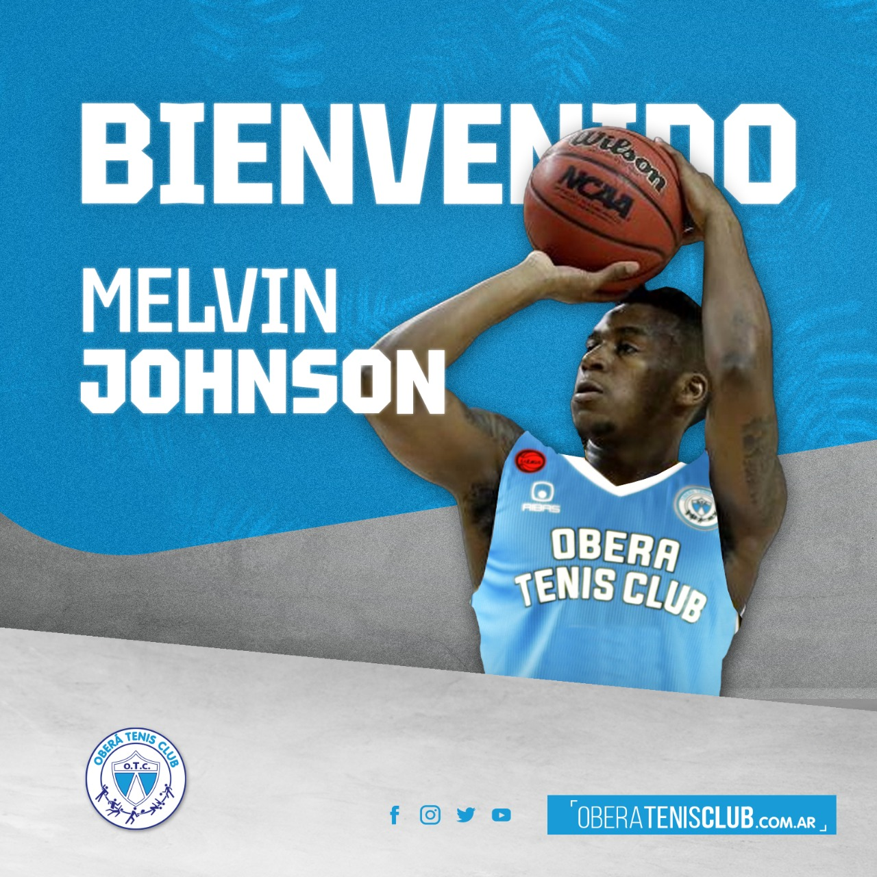 Melvin Johnson es nuevo jugador de OTC